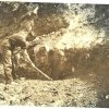 Celestine Digging North Yate 1920
