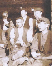 Coal Miners in Coalpit Heath
