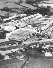 Aerial view of Newman's Factory, Yate