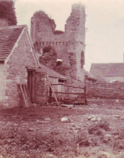 Ruins of Yate Court